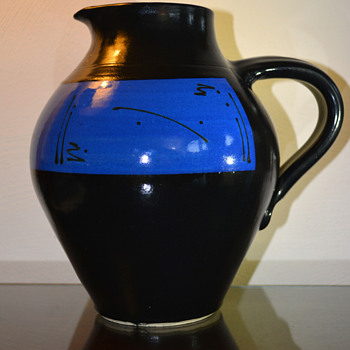 Art Pottery -Pinced Mouth Jug - Pottery