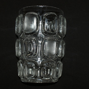František Vízner, 1962, Libochovice. Pattern number: 3236/19 - SKLO Union - Art Glass