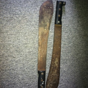 A couple of old Machete's I love - Asian