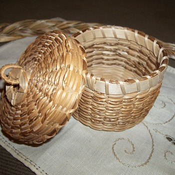 Maine Basket by Lawrence  Shay, Penobscot - Native American
