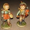 Porcelain Figurines (Little Boy & Girl)