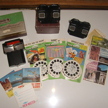 OLD! VIEWMASTER REELS LIGHT ADAPTER ORIGINAL BOXES - Photographs