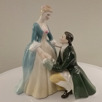 Royal Doulton The Suitor  - Figurines