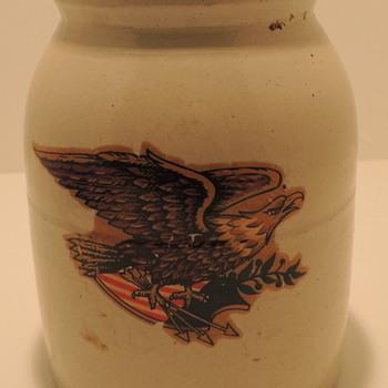 Patriotic Crock - China and Dinnerware