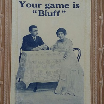 Your game is what? - Postcards