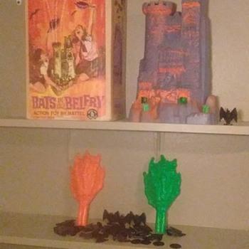 1960's Mattel Bats in your Belfry Game !!