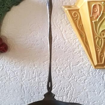 Orivit Art Nouveau Pewter Ladle 1894-1905 Vintage Shop Find 15 Euro ($15.99) - Art Nouveau