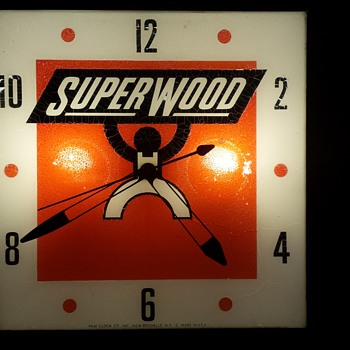 Superwood Clock - Clocks