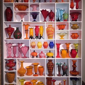 Bohemian/Czech art glass collection - Art Glass