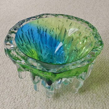 Monumenta KOSTA BODA Glass Vase -Goran Warf - Art Glass