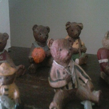 Mom's Bear Collection (purchased in Ohio)  - Figurines