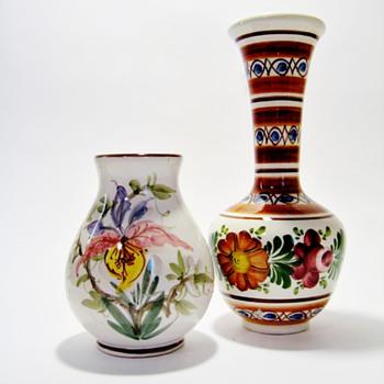 AMBEROSES FAVORITE VASES /THROWBACK WEEKEND  - Pottery