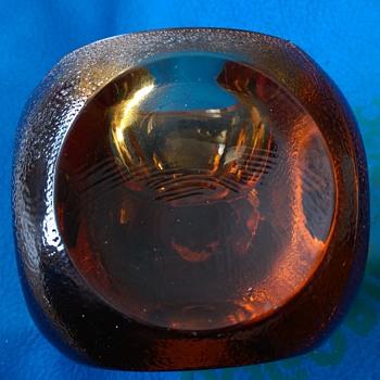 Amber Glass ?? help! (Murano Sommerso??) - Art Glass