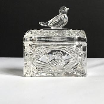 Small glass trinket  - Glassware