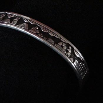 Storyteller Bracelet - Feather Hallmark Mystery - Native American