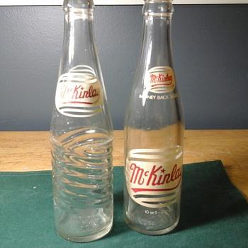 Soda bottles. - Bottles