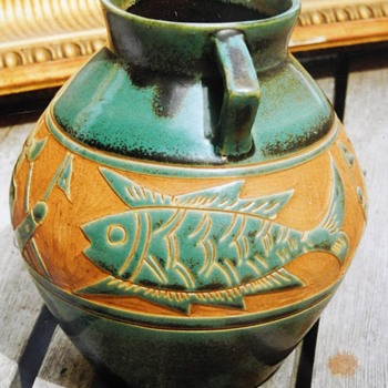 Arts and Crafts Vase found in Canada. - Pottery
