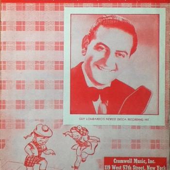 """Hop Scotch Polka"" Sheet Music - Paper"
