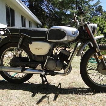 1966 Suzuki K10 80cc motorcycle - Motorcycles