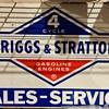 Briggs and Stratton Service sign