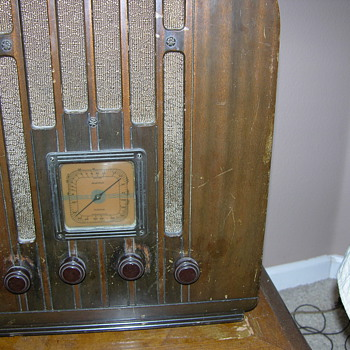 RCA Victor Radio 1934?? Made for GE Not sure of the model