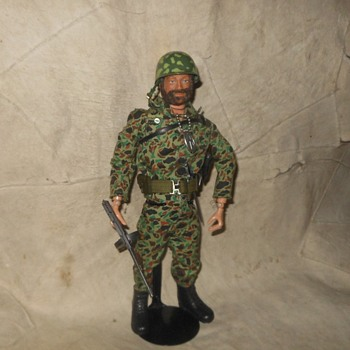GI Joe Talking Adventure Team Commander as a Marine Jungle Fighter - Toys