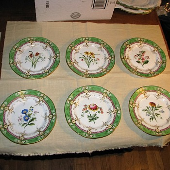 Have no idea when and where these plates are from