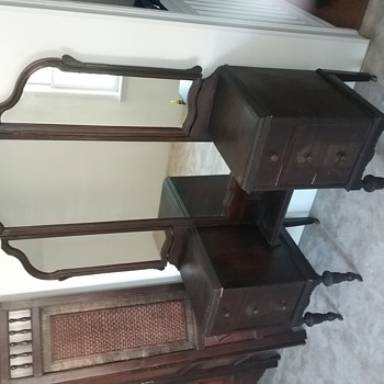 Antique make up vanity