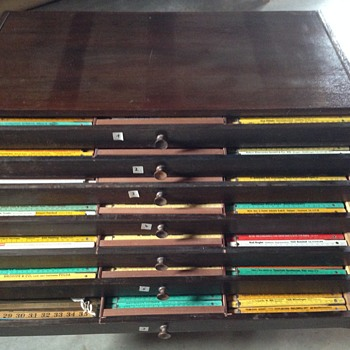 HUGE Collegian of Vintage Measuring Tapes_Rulers (Mostly German) - Tools and Hardware