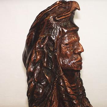 "Thomas B Maracle, Carving""Spirit Guide""XX Century"