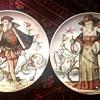 Villeroy Boch Antique Handpainted Plates~
