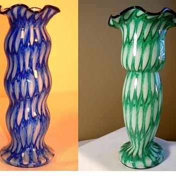 Franz Welz - Powder decors - Art Glass