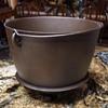 Rare cast iron bean pot