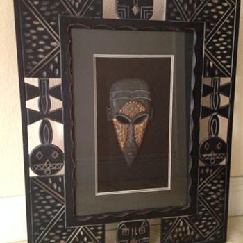 Tribal Mask? Need help identifying
