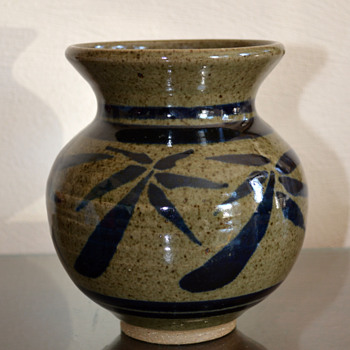 Small Studio Pottery Vase - Pottery