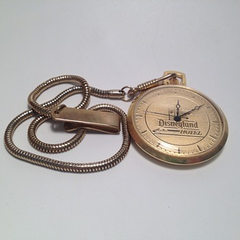 Monorail Hotel Pocket Watch - Pocket Watches