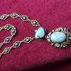 Turquoise Austro-Hungarian necklace