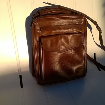 Offermann West Germany Full Leather Satchel/Messenger Bag Thrift Shop Find 3 Bucks - Bags