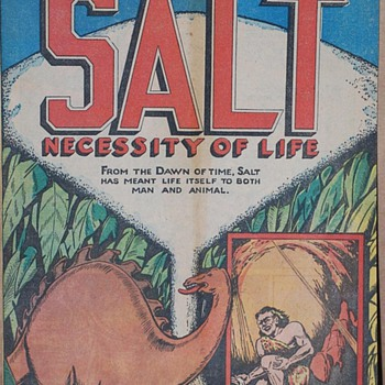 """The Story Of Salt Comic"""
