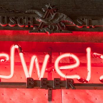 Anheuser Busch St. Louis Neon - Breweriana