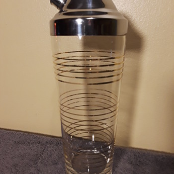 vintage martini/cocktail shaker - Kitchen