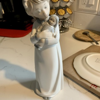 Need Help with Spanish Porcelain Company Maker  - Figurines