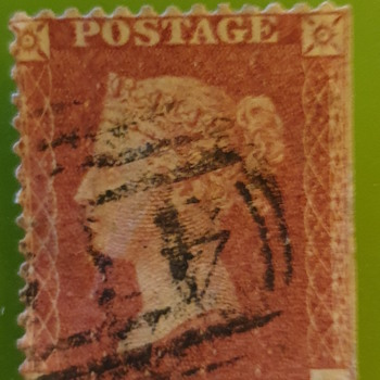 Penny Red stamp - Stamps