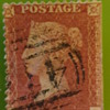 Penny Red stamp