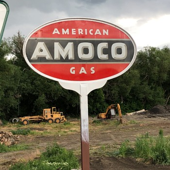 American Amoco Gas - Signs