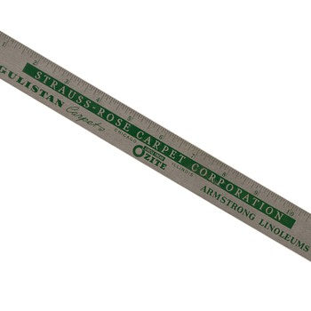1950's - Metal Advertising Ruler - Advertising