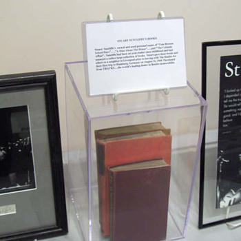 Stuart Sutcliffe's owned books... - Music Memorabilia