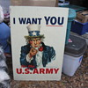 "38"" x 22"" Metal Uncle Sam Sign"