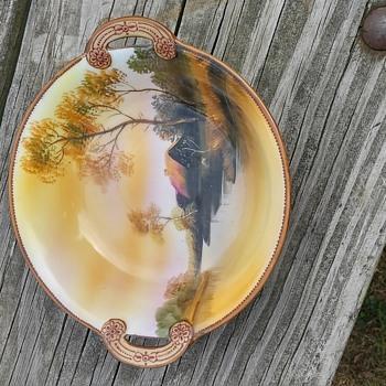 Noritaki painted dish - China and Dinnerware