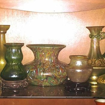 Loetz Ozone, Mini's, Olympia, Ausf 237, Ewers & More Vases  - Art Nouveau